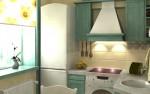 оптимизация пространства кухни